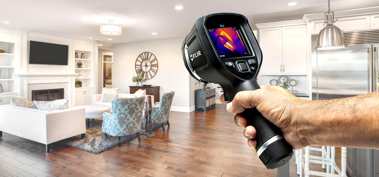 Thermal Imaging Camera Home Inspection