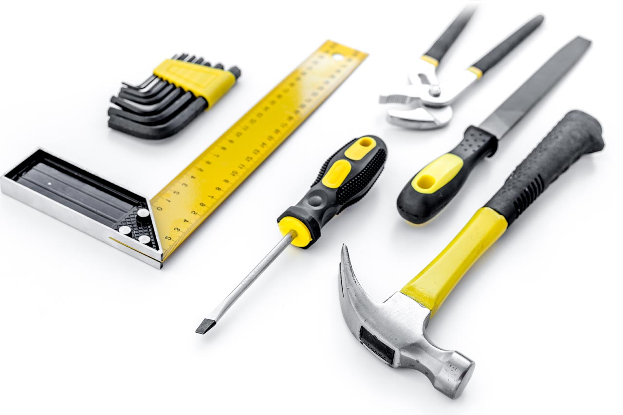 Home Inspector Construction Background Tools