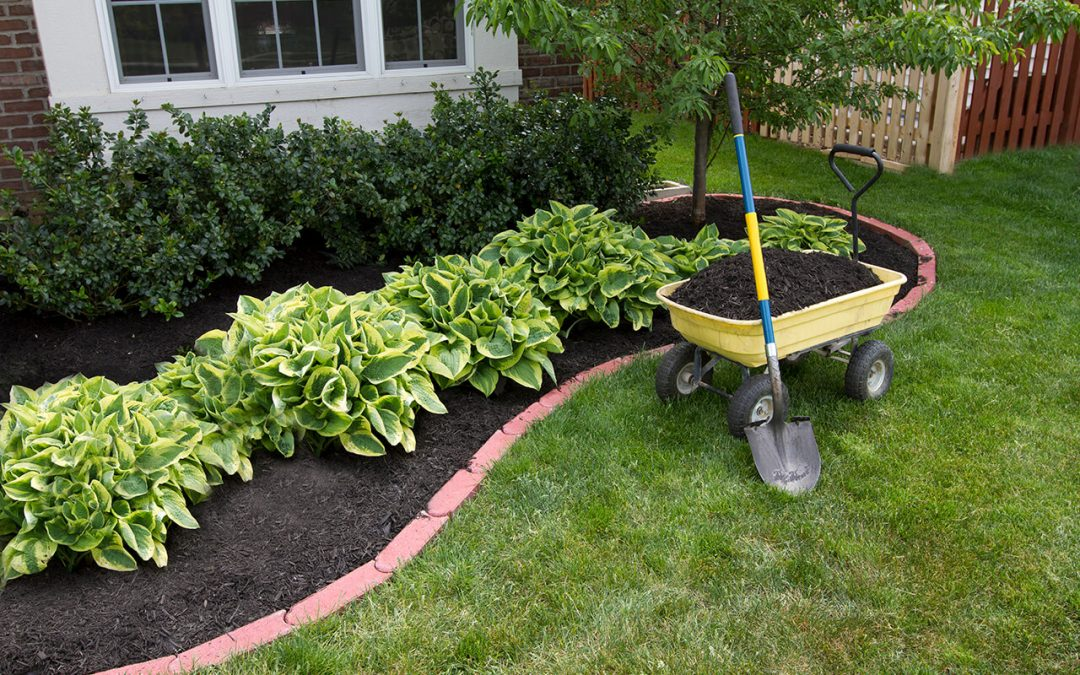home maintenance costs including mulch for your landscaping
